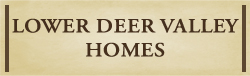 Lower Deer Valley Homes